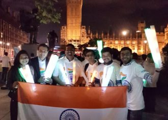 IYPN Participates in Midnight Run with High Commission of India