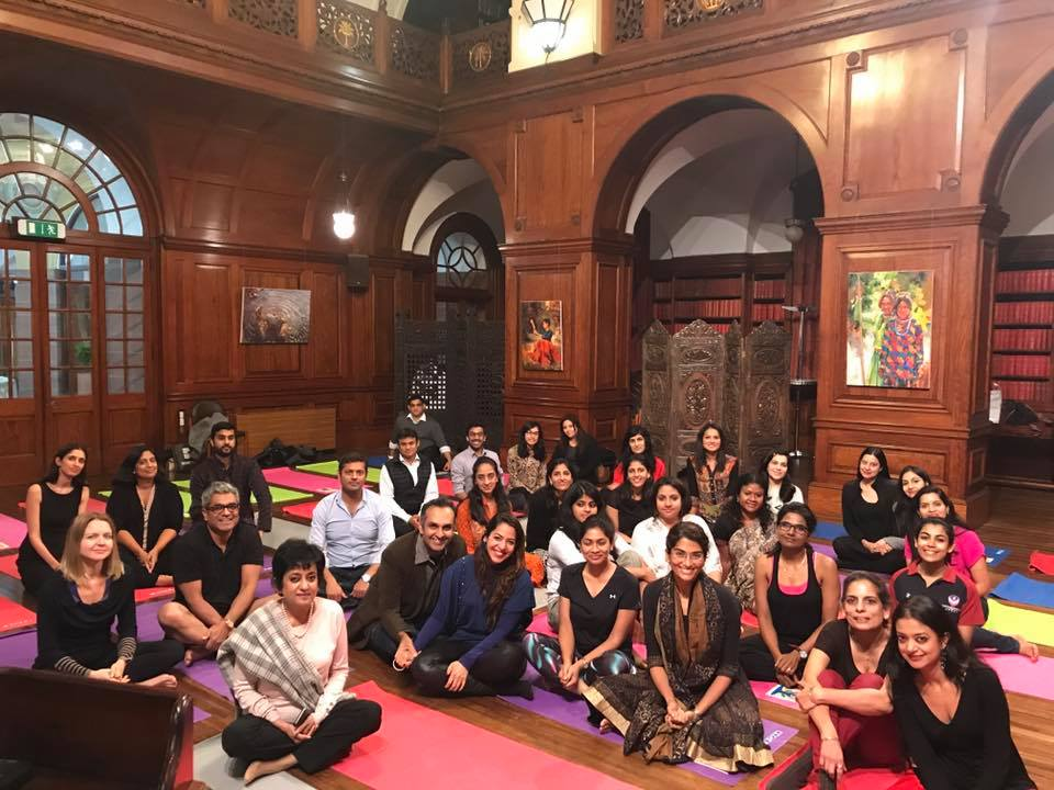 WIN Wellness Event – Meditation led by Mrs Girija Sinha