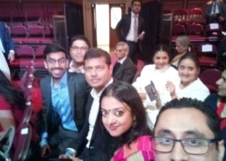 IYPN members at PM Shri Narendra Modi Reception
