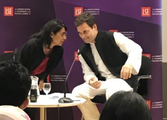 IYPN members at LSE – Conversation with Mr Rahul Gandhi